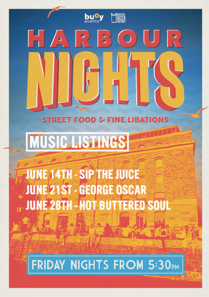 June music listings for Harbour Nights